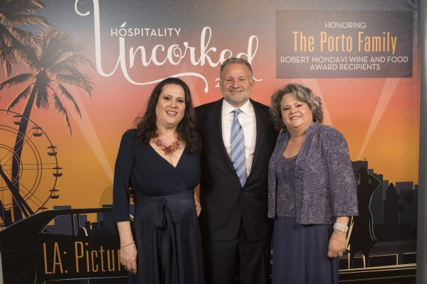20Hospitality Uncorked-The Portos during Hospitality Uncorked 2020 at the JW Marriott in Los Angeles February 28, 2020.